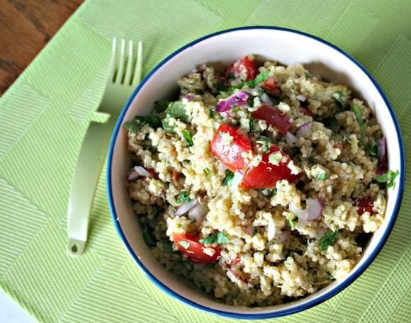 Quinoa and Avocado Salad from In Fine Balance