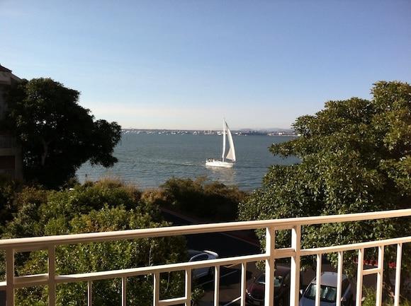 Coronado Bay in San Diego.