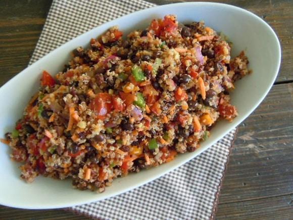 Quinoa Bean Salad from Nutmeg Notebook