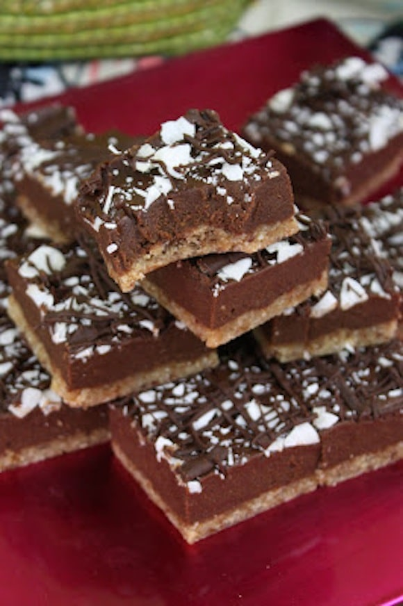 Raw Chewy Chocolate Squares from Sweetly Raw