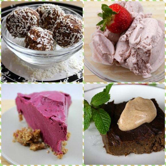 Dessert sampler from Vegan Delish.