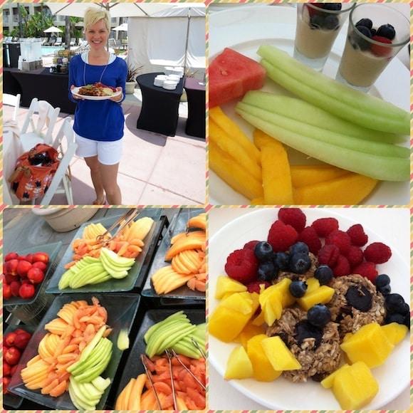 Dessert collage from Dr. Fuhrman's Getaway.