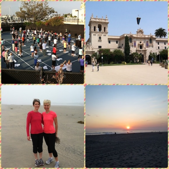 Activity collage from Dr. Fuhrman's Getaway.