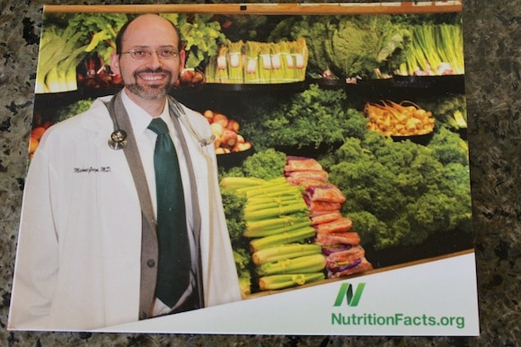 Dr. Greger of NutritionFacts.org