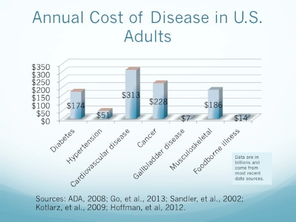 Cost of disease in the US