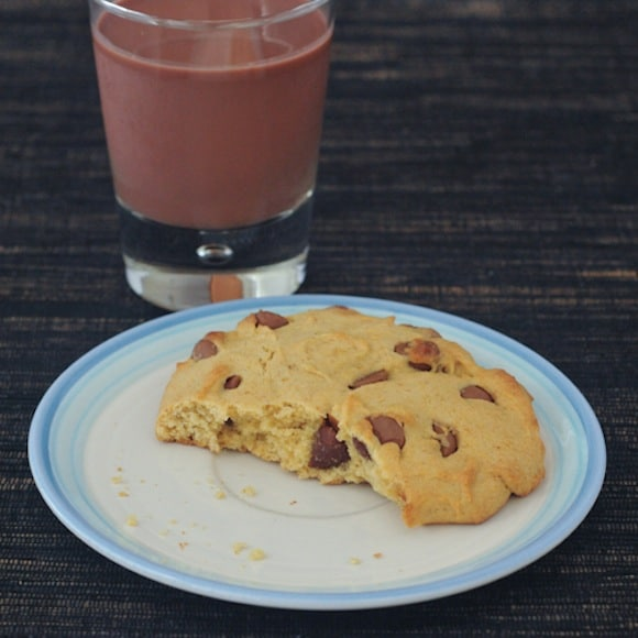 Chocolate Chip Cookie for One from Spabettie