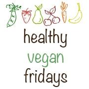 Healthy Vegan Friday badge