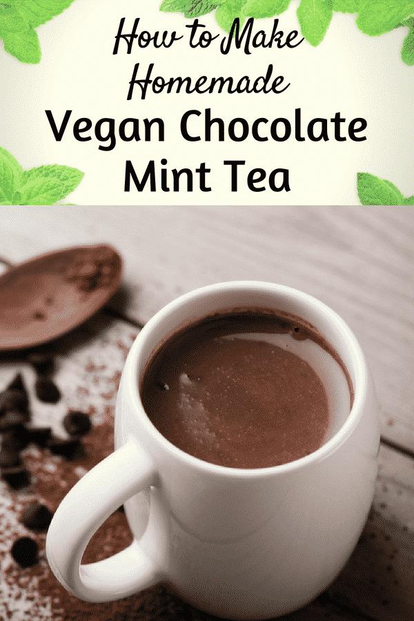 Homemade Chocolate Mint Tea