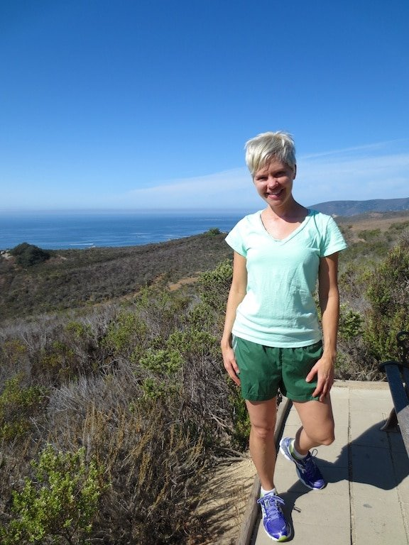 Hiking on California's Central Coast as seen on Carrie on Living | www.cleaneatingkitchen.com