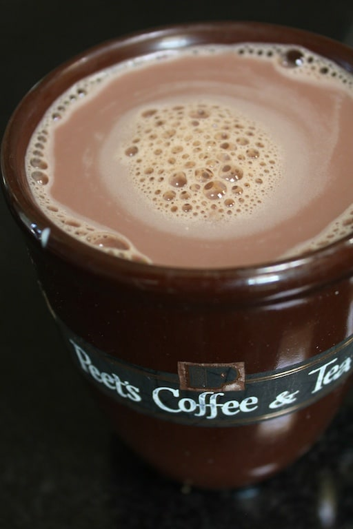 Vegan hot cocoa