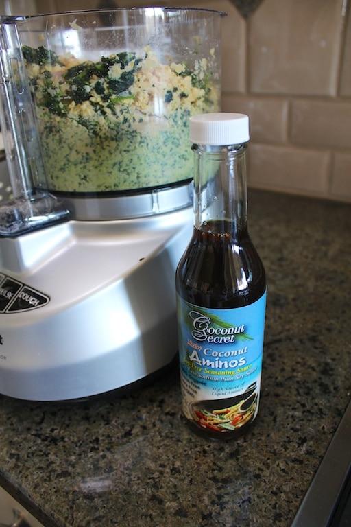Coconut aminos for flavor