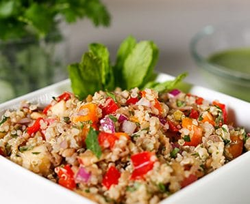 Forks Over Knives Quinoa Salad Recipe