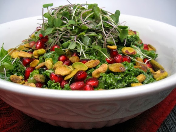 Bejeweled Superfood Salad from Eat to the Beet