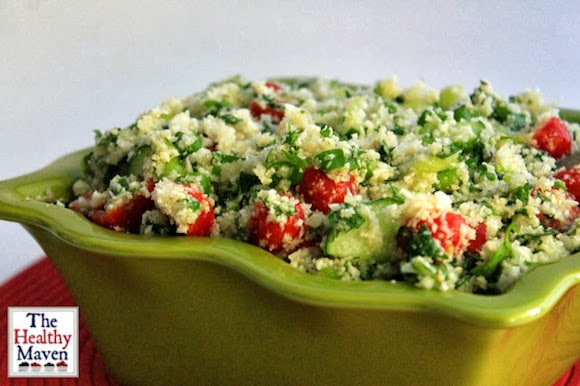 Cauliflower Tabbouleh from The Healthy Maven