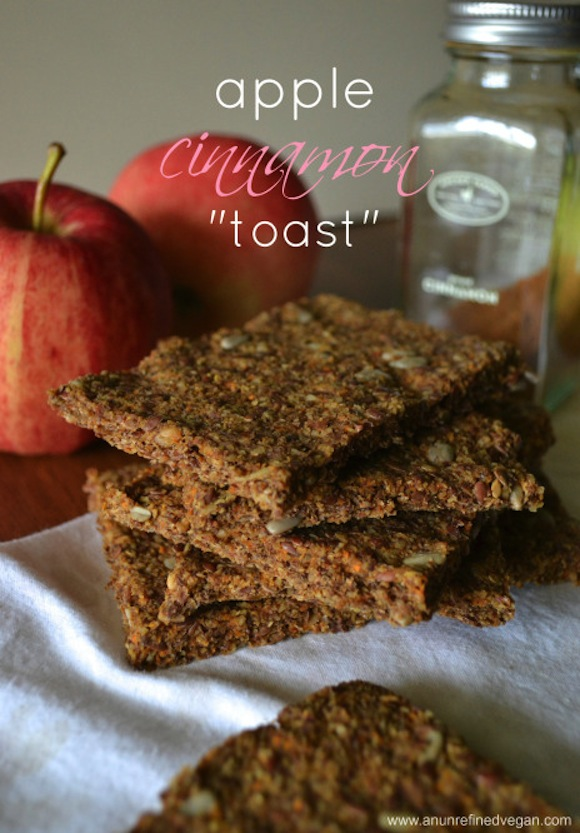 Cinnamon Apple Toast from An Unrefined Vegan