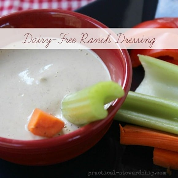 Dairy Free Ranch Dressing from Practical Stewardship