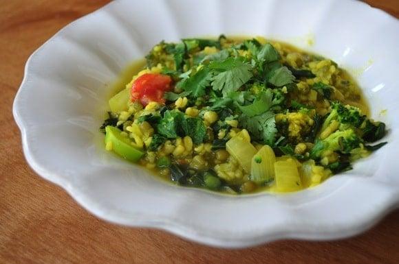 Green Kitchari from Blissful Bites