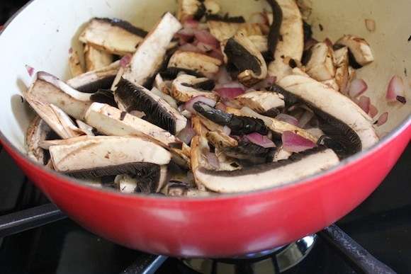 Mushrooms for stew