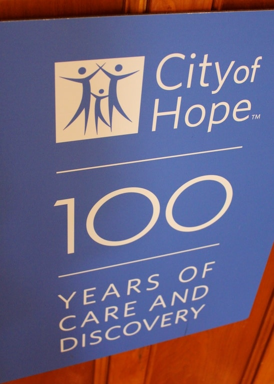 City of Hope sign