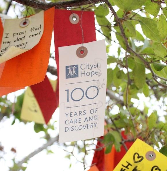 City of Hope Wish Tree tag