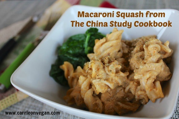 Macaroni Squash from The China Study Cookbook