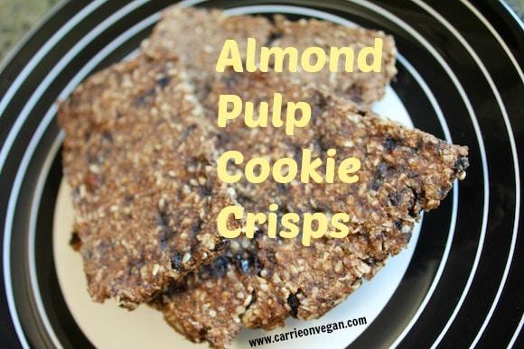 Almond Pulp Cookie Crisps