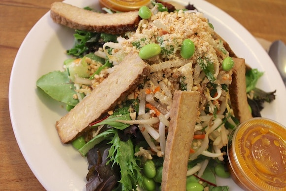 Thai Peanut Salad at S'nice in SoHo