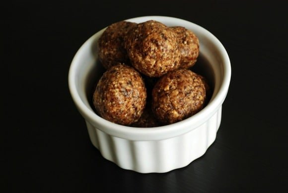 Peanut Butter and Jam Energy Balls from The Taste Space