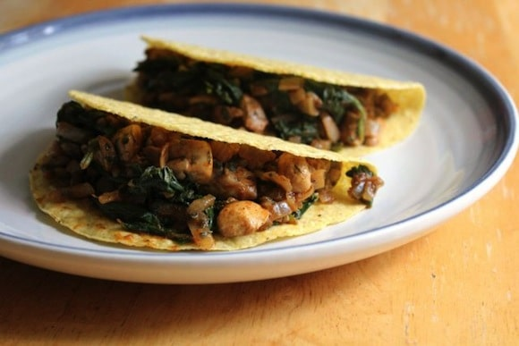 Savory Pumpkin Lentil Tacos from Strength and Sunshine