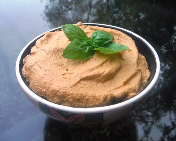Sprouted Sun Dried Tomato Hummus from My Healthy Chef