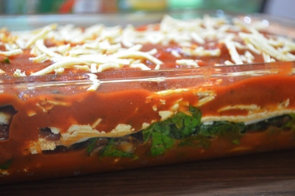 Vegan Butternut Squash & Kale Lasagna from Gluten-Free Cat