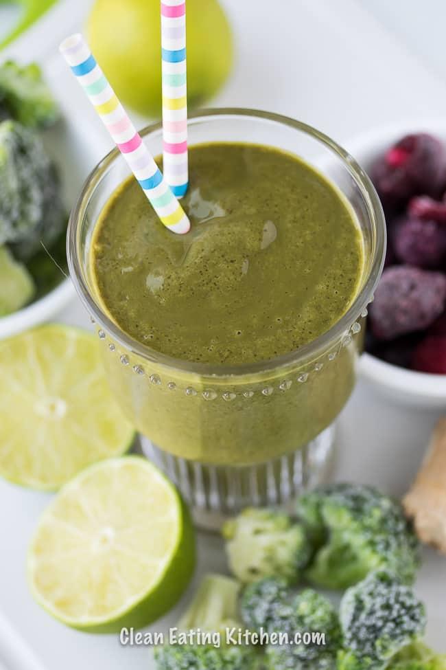 Anti-Cancer Breakfast Smoothie Recipe (Vegan & Dairy-Free)