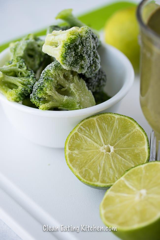 anti cancer green breakfast smoothie ingredients