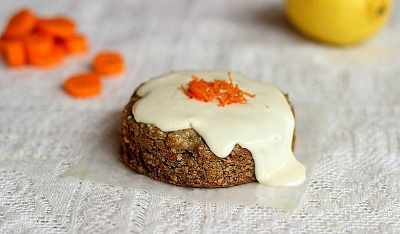Carrot Cake for Two from Oatmeal with a Fork