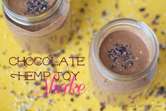 Chocolate Hemp Joy Shake from Good Girl Gone Green