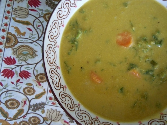 Golden Austrian Cauliflower Cream Soup from Nutmeg Notebook