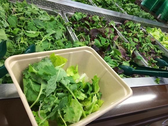 My salad greens
