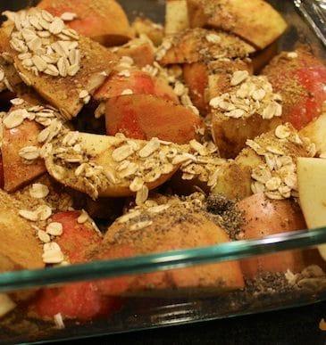 Fall-Inspired Vegan Eats & Cinnamon Apple Bake