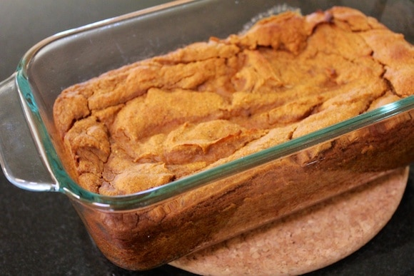 Sweet Potato Pudding from Carrie on Living | www.cleaneatingkitchen.com