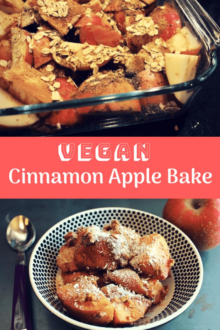 Vegan Cinnamon Apple Bake