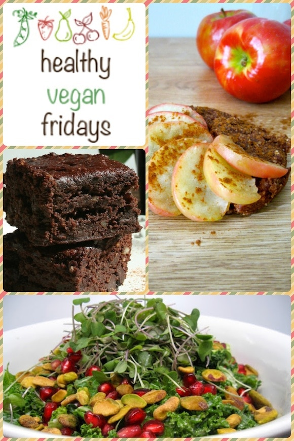 Healthy Vegan Friday collage