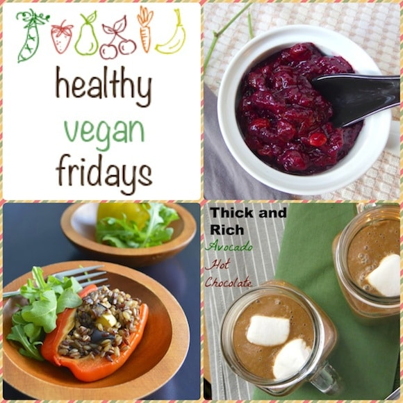 Healthy Vegan Friday collage for Holiday Dishes
