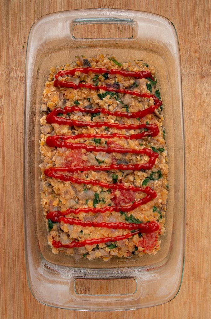 lentil loaf recipe vegan ready to bake
