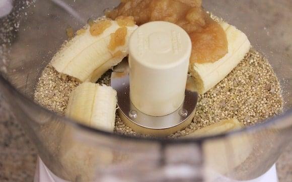 High-Fiber Muffins processor