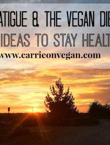 Fatigue & the Ex-Vegan Phenomenon