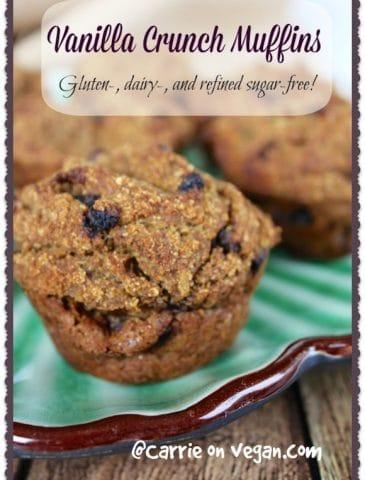 High-Protein Vanilla Crunch Muffins & Vitacost Giveaway