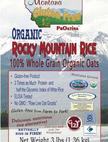 Gluten-Free Organic Oat Giveaway