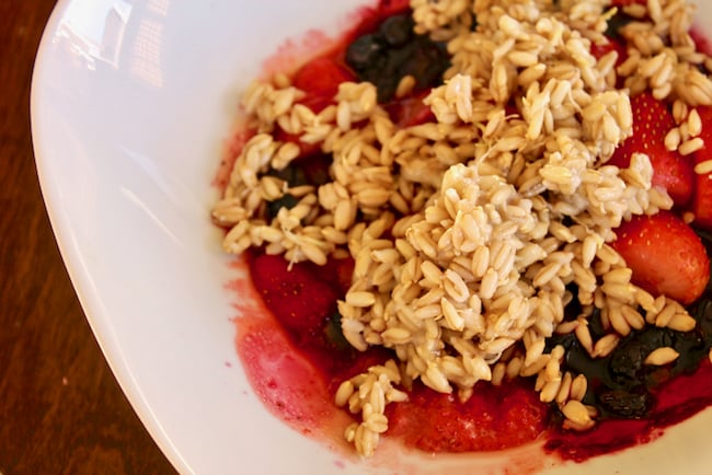 Sprouted Oat Groat Cereal & How to Sprout Oat Groats - Clean Eating