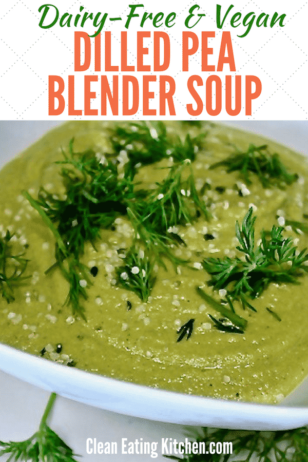 Vegan Dilled Pea Soup