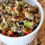 Wild Rice & Lentil Salad